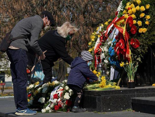 Alemania conmemora 75º aniversario del fin del Holocausto a la sombra de la pandemia