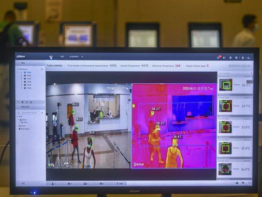 Metro de Panamá instala cámaras térmicas para detectar potenciales usuarios con COVID-19