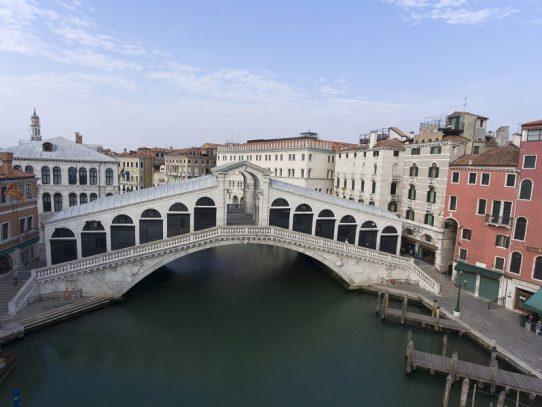 El ecosistema de la laguna de Venecia sale a la luz con el confinamiento