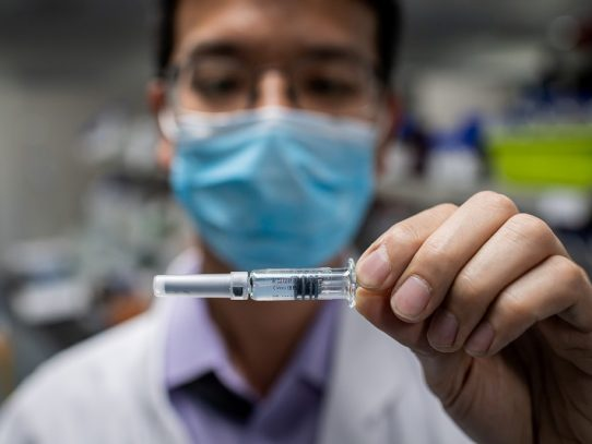 Un laboratorio chino produce ya una posible vacuna contra el virus