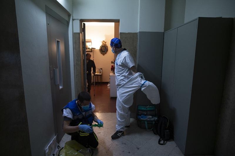 Importando descenso del número de muertos a España: un centenar menos