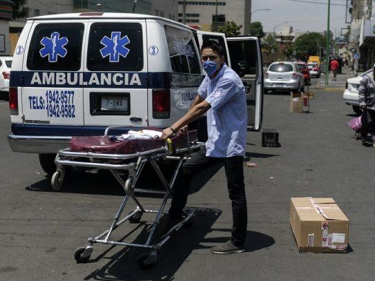 México alista hospital por coronavirus en autódromo de F1