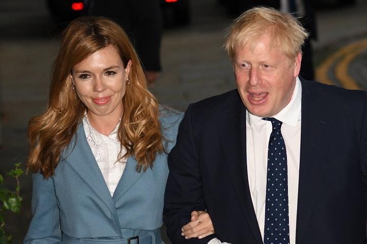 Tras enfermarse de coronavirus, mirá el nombre que le puso el primer ministro británico a su hijo