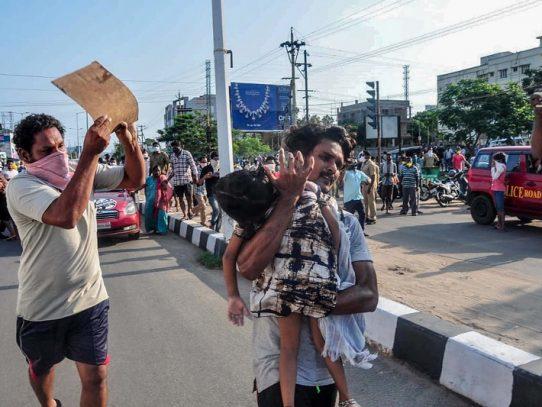 Al menos once muertos y 1.000 hospitalizados por un escape de gas en India