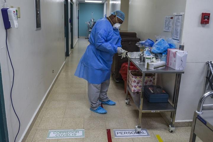 """""""Capacidad hospitalaria en estado crítico"""" : Ministerio de Salud"""