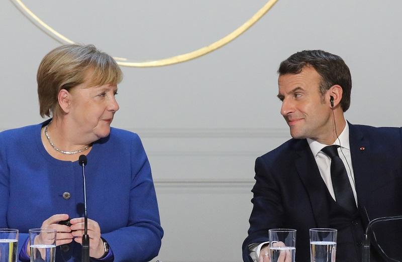 Macron y Merkel preparan un plan de reactivación de la UE en respuesta al coronavirus