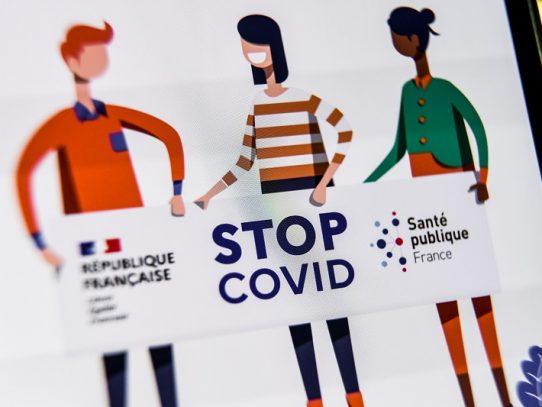 Fracaso de la aplicación para rastrear cadenas de contagio de covid en Francia