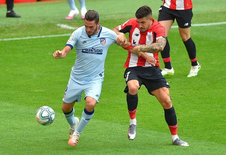 El Atlético empata 1-1 con el Athletic de Bilbao