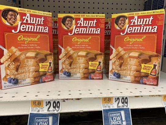 La famosa Aunt Jemima de Quaker Oats será remplazada por un logo menos estereotipado