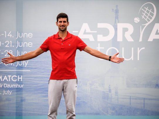 Djokovic anuncia haber dado positivo al nuevo coronavirus
