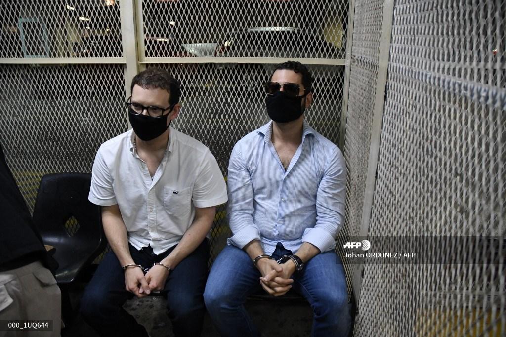 Hermanos Martinelli bajo detención provisional en la cárcel Mariscal Zavala