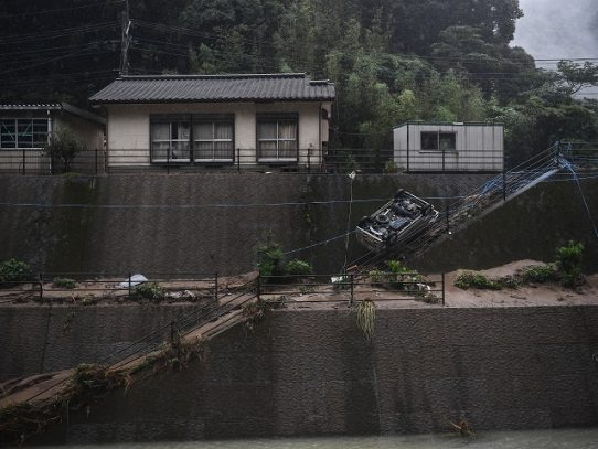 Más de 50 muertos en inundaciones en Japón, donde se aceleran tareas de rescate