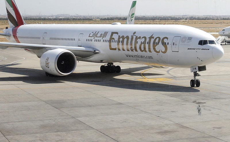 La compañía Emirates devuelve 1.400 millones de dólares a sus clientes por el virus