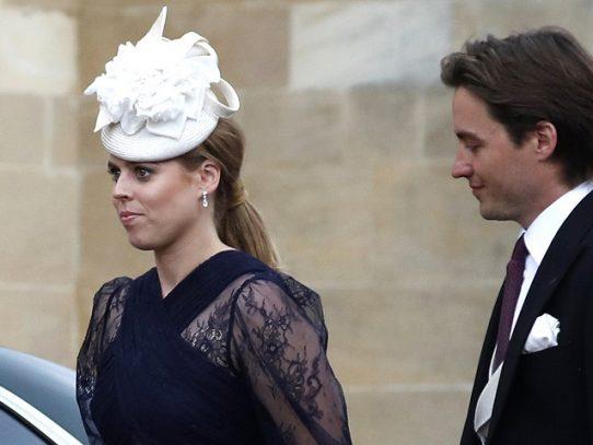 Boda discreta para la princesa Beatriz, nieta de Isabel II