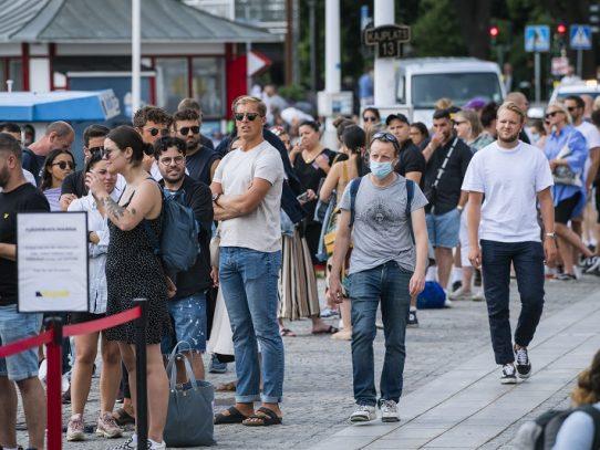Los países nórdicos, reacios a ponerse la mascarilla contra la pandemia