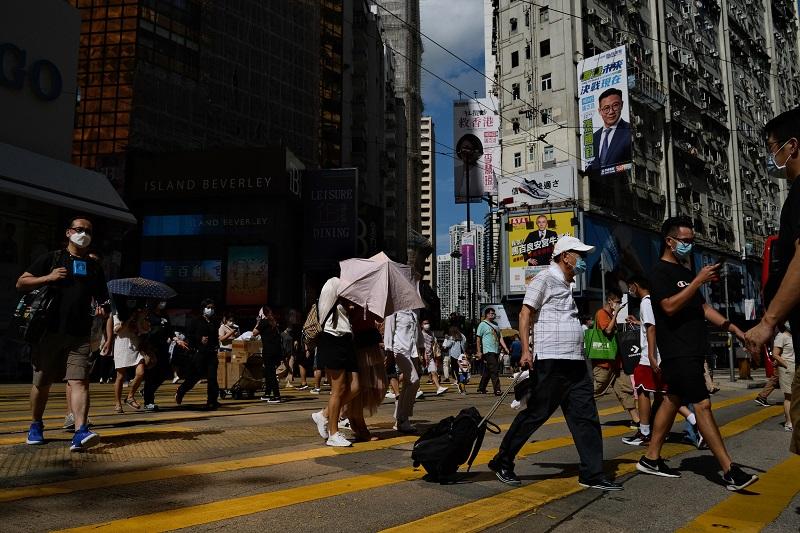Hong Kong se hunde en la recesión debido a la pandemia de covid-19