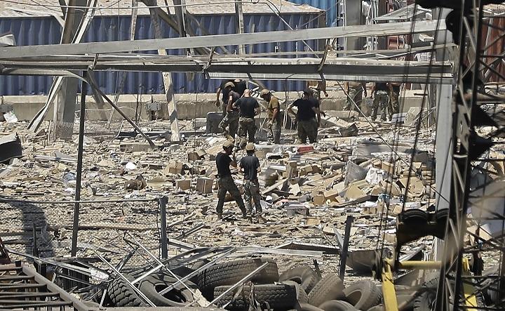 """Enviado de EE.UU pide """"transparencia"""" en la investigación de la explosión de Beirut"""