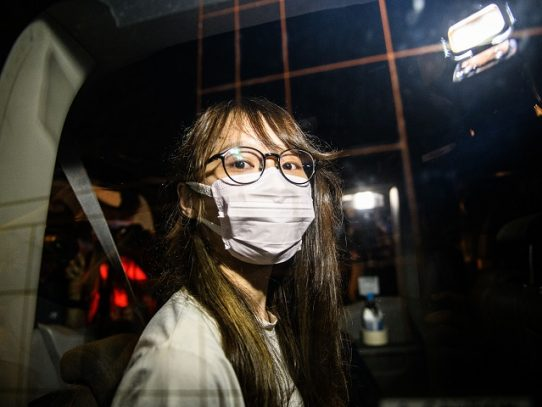Agnes Chow, la activista hongkonesa a la que Pekín quiere silenciar