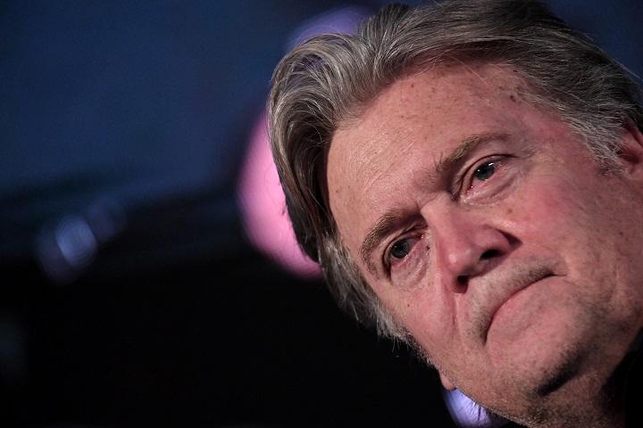 Bannon, exconsejero de Trump, acusado de fraude en campaña para construir muro con México