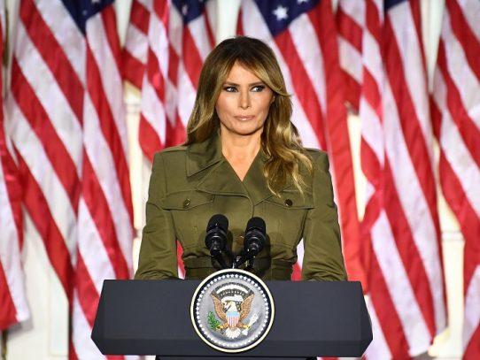 Melania Trump y su arma no tan secreta: la compasión antes que el combate