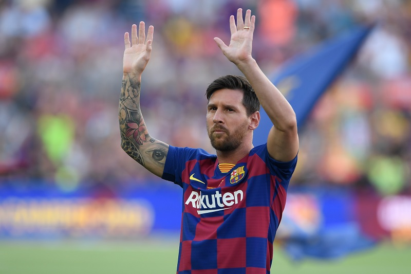 Sudamericanos en Europa (once ideal): Messi marca un doblete y Cavani se estrena en la Premier