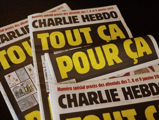 Desactivan temporalmente cuentas de Instagram de periodistas de Charlie Hebdo
