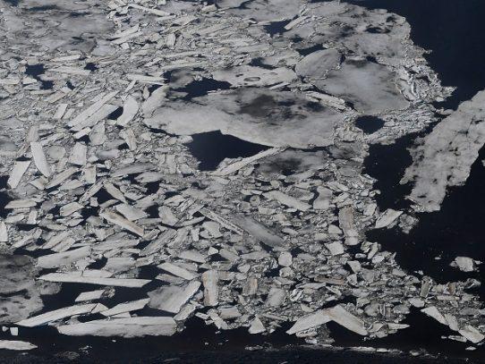 El hielo del mar de Bering en su nivel más reducido en 5.500 años