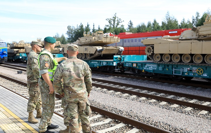 EE.UU. inicia maniobras en Lituania en medio de tensiones con Bielorrusia