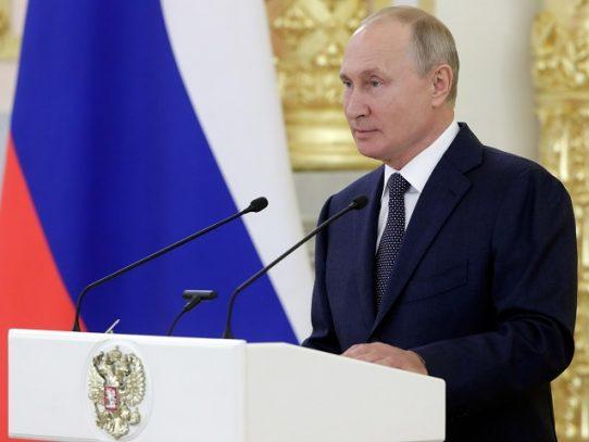 Vladimir Putin, es propuesto para el Premio Nobel de la Paz de 2021