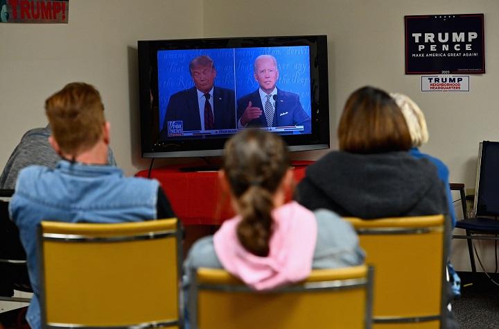 """""""Nadie ganó"""": seguidores de Trump se quedan fríos en ciudad de Biden"""