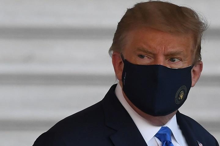 Hospitalización de Trump por Covid-19 sacude campaña electoral de EE.UU.