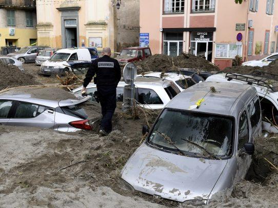 Devastadoras inundaciones dejan al menos cuatro muertos en Francia e Italia