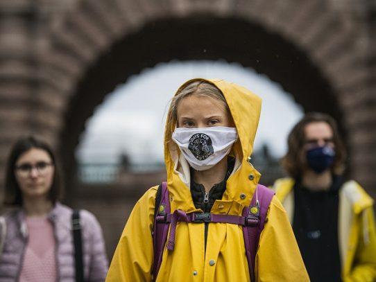 """Greta Thunberg pide a la UE hacer """"todo lo posible"""" por el clima"""