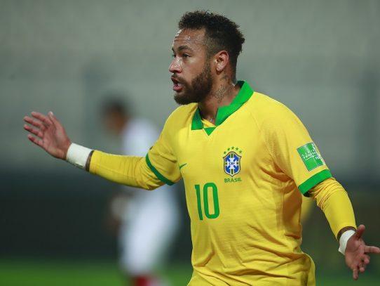Neymar iguala a Ronaldo como segundo máximo artillero de Brasil