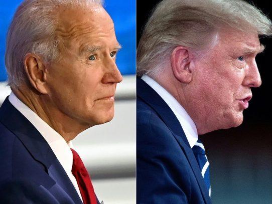 Duelo Trump-Biden a distancia por TV en una campaña otra vez alterada por la covid-19
