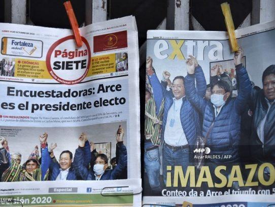 Almagro felicita al candidato de Morales tras elecciones en Bolivia
