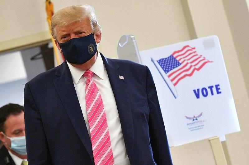 """Trump dice que se siente """"muy bien"""" sobre sus chances de ganar la elección"""