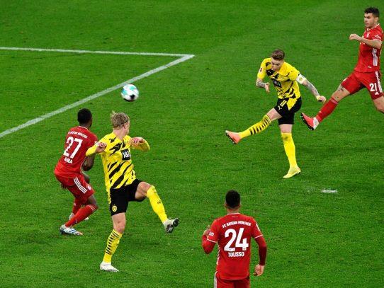 El Bayern remonta ante el Dortmund y se coloca líder en solitario