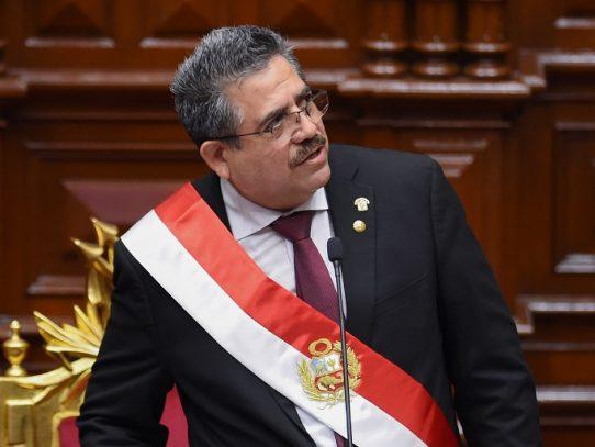Un 94% de los peruanos rechazó el nombramiento de Merino como presidente