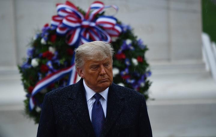 Trump hará su primera aparición oficial desde que perdió las elecciones