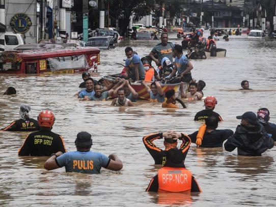 Tifón Vamco deja al menos 14 muertos en Filipinas
