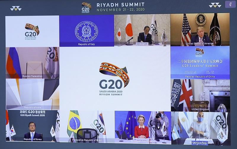 Los momentos clave de la cumbre del G20 en Arabia Saudita