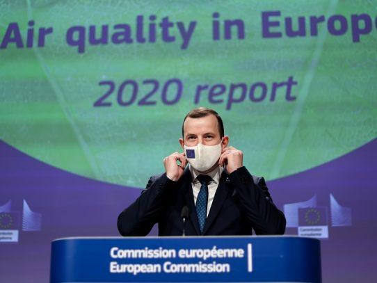 Los europeos respiran un mejor aire que hace una década