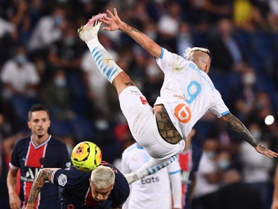 El PSG pierde el Clásico ante Marsella, Neymar expulsado en su regreso
