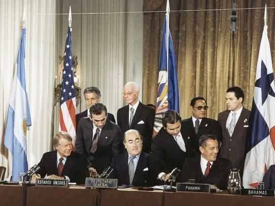 Este lunes se cumplen 43 años de la firma de los Tratados Torrijos-Carter