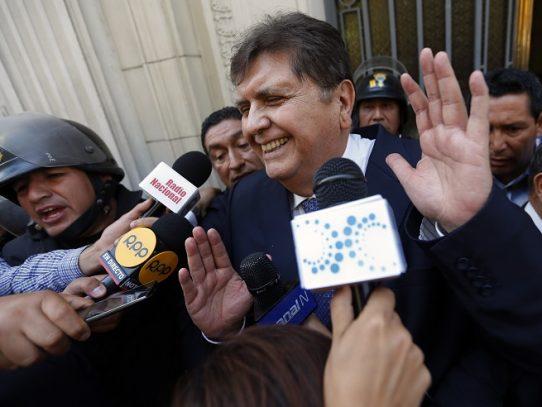 Fiscalía peruana puede quitar propiedades a familia de Alan García