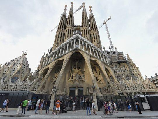 La pandemia retrasará la finalización de la Sagrada Familia de Barcelona