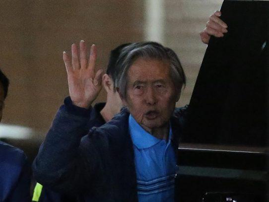 Expresidente Fujimori retorna a prisión tras superar problemas cardíacos