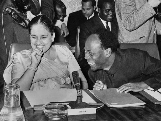 Hace 60 años, una mujer era elegida por primera vez jefa de gobierno