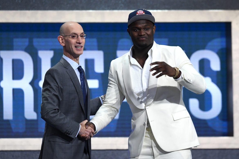 Zion Williamson, elegido en primer lugar del Draft de la NBA